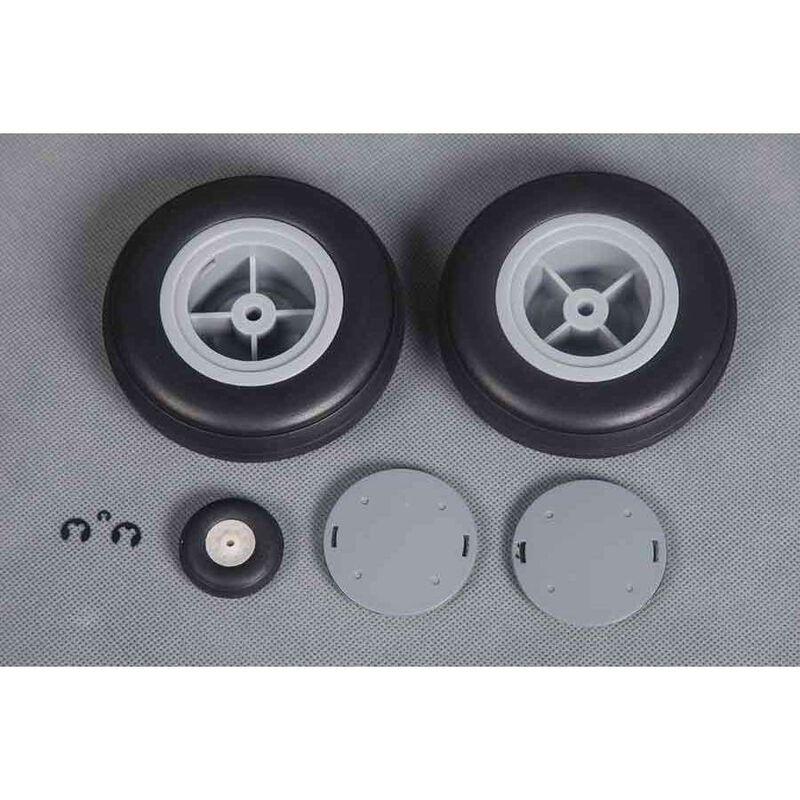 Tire Set  P-40B 1400mm