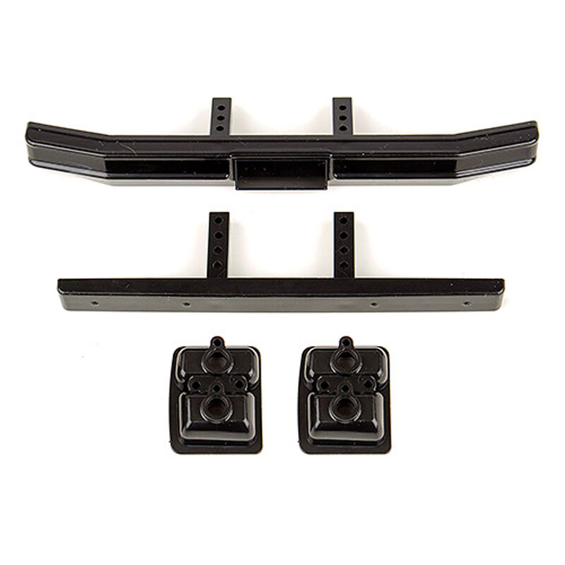 Ford F-150 Bumper Set, Black: CR12