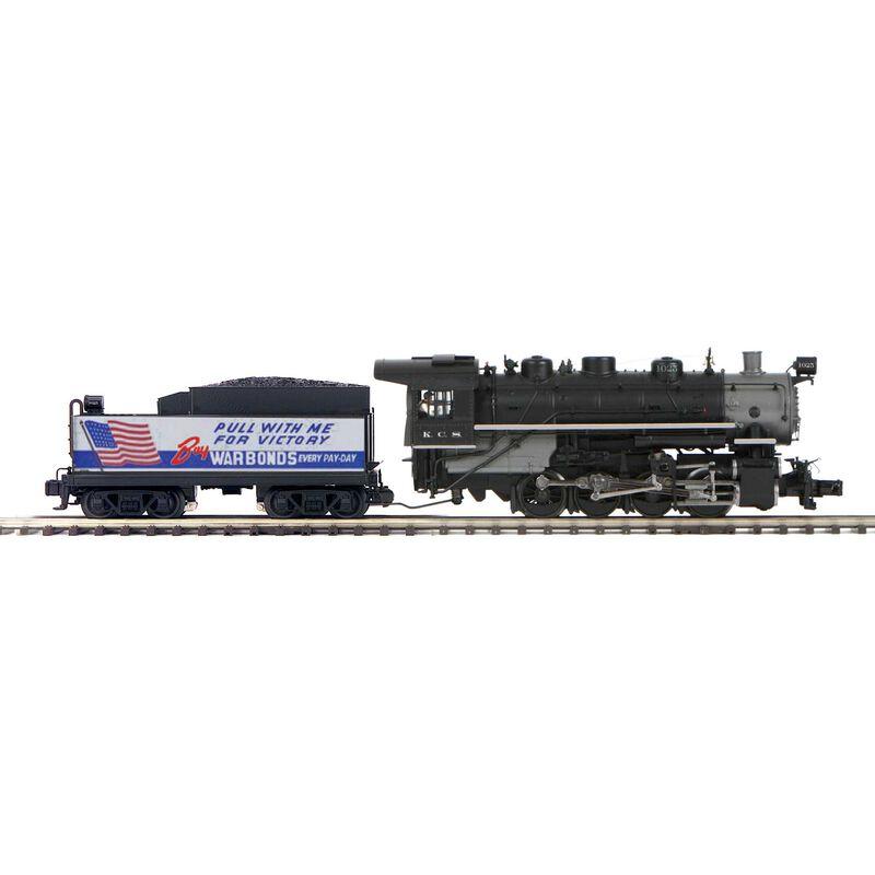 O Hi-Rail 0-8-0 w PS3 KCS #1025