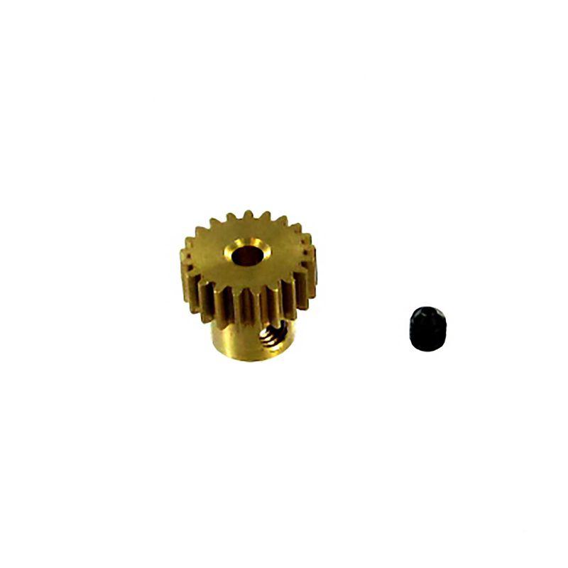 Brass Pinion Gear, 21T, 0.6 Module: Volcano