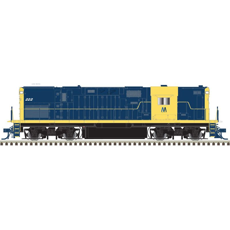 HO C420 Phase 2B w DCC & Sound High Nose LIRR #225