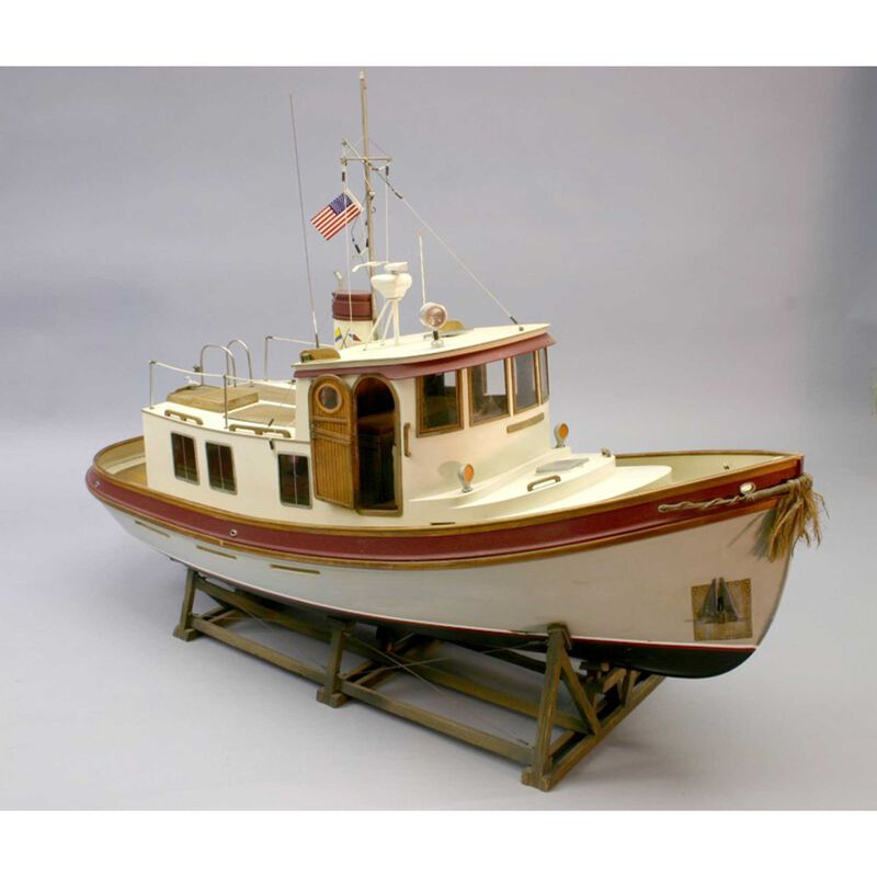 1/16 Lord Nelson Victory Tug Boat Kit, 28""