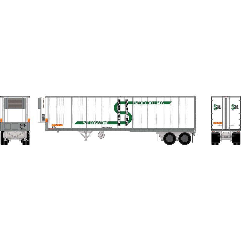 HO RTR 40' Fruehauf Z-Van Trailer,IMSZ #470146