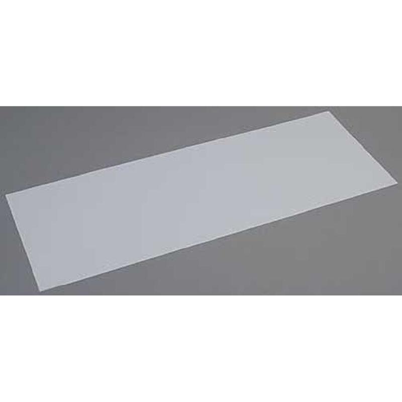 White Sheet .125 x 8 x 21