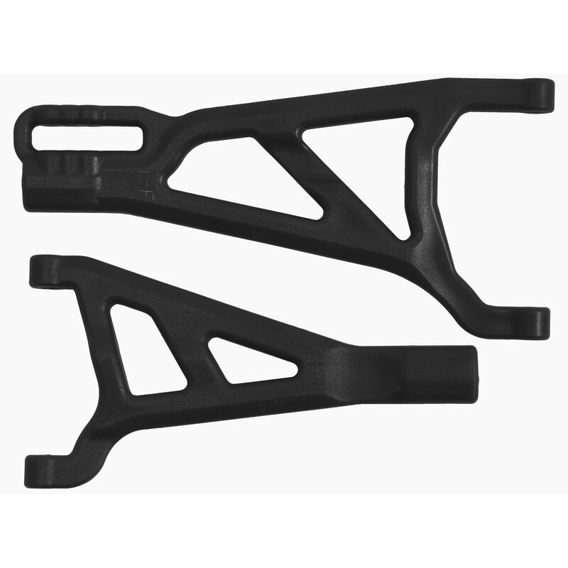 Black Front Left A-arms for the Traxxas Summit RVO