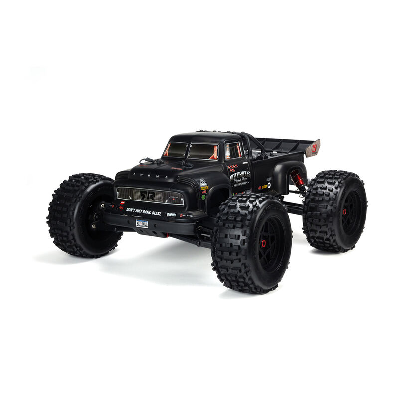 1/8 Painted Body, Black Real Steel: Notorious 6S BLX