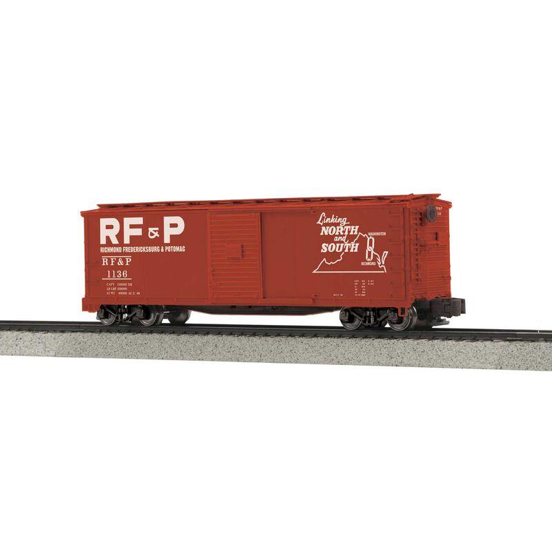 Rebuilt Steel Box Car Hi-Rail Wheels RF&P #1136