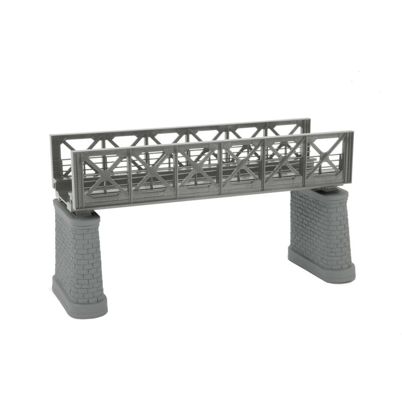 HO KIT Girder Bridge, Silver