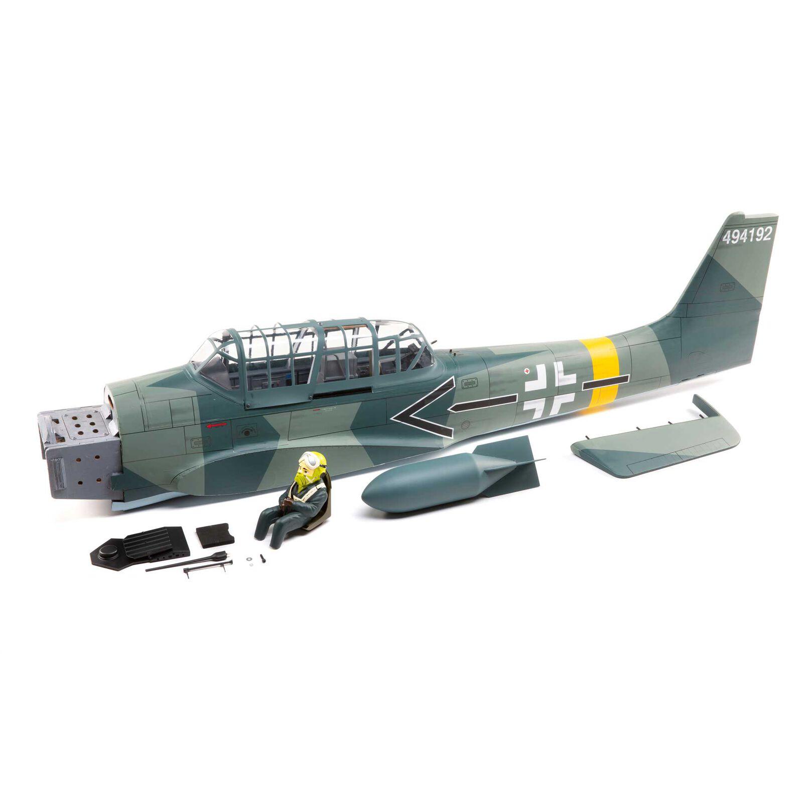 Fuselage Set Stuka 61cc EP ARF