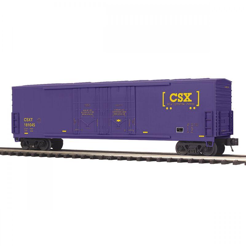 O 50' Double Door Plug Box CSX