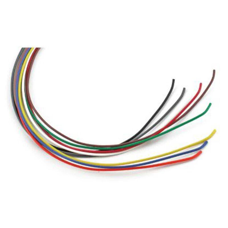 10' Wire 30 Gauge Black