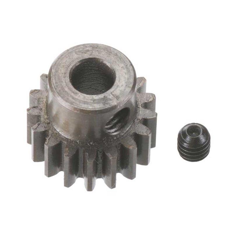 Extra Hard 5mm Bore .8 Module (31.75P) Pinion, 17T
