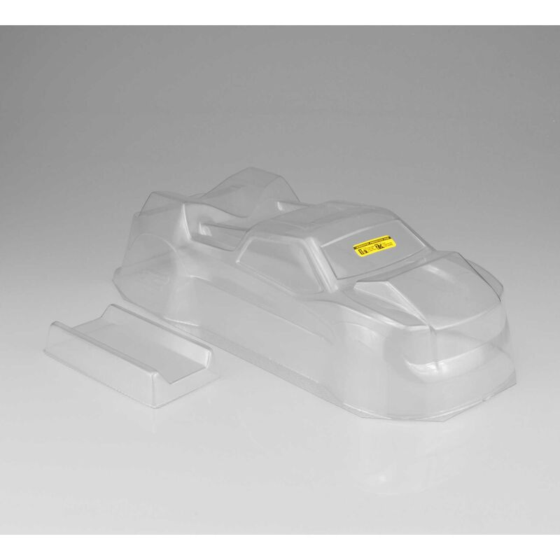 1/10 Finnisher Clear Body with Rear Spoiler: T6.1, YZ-2T