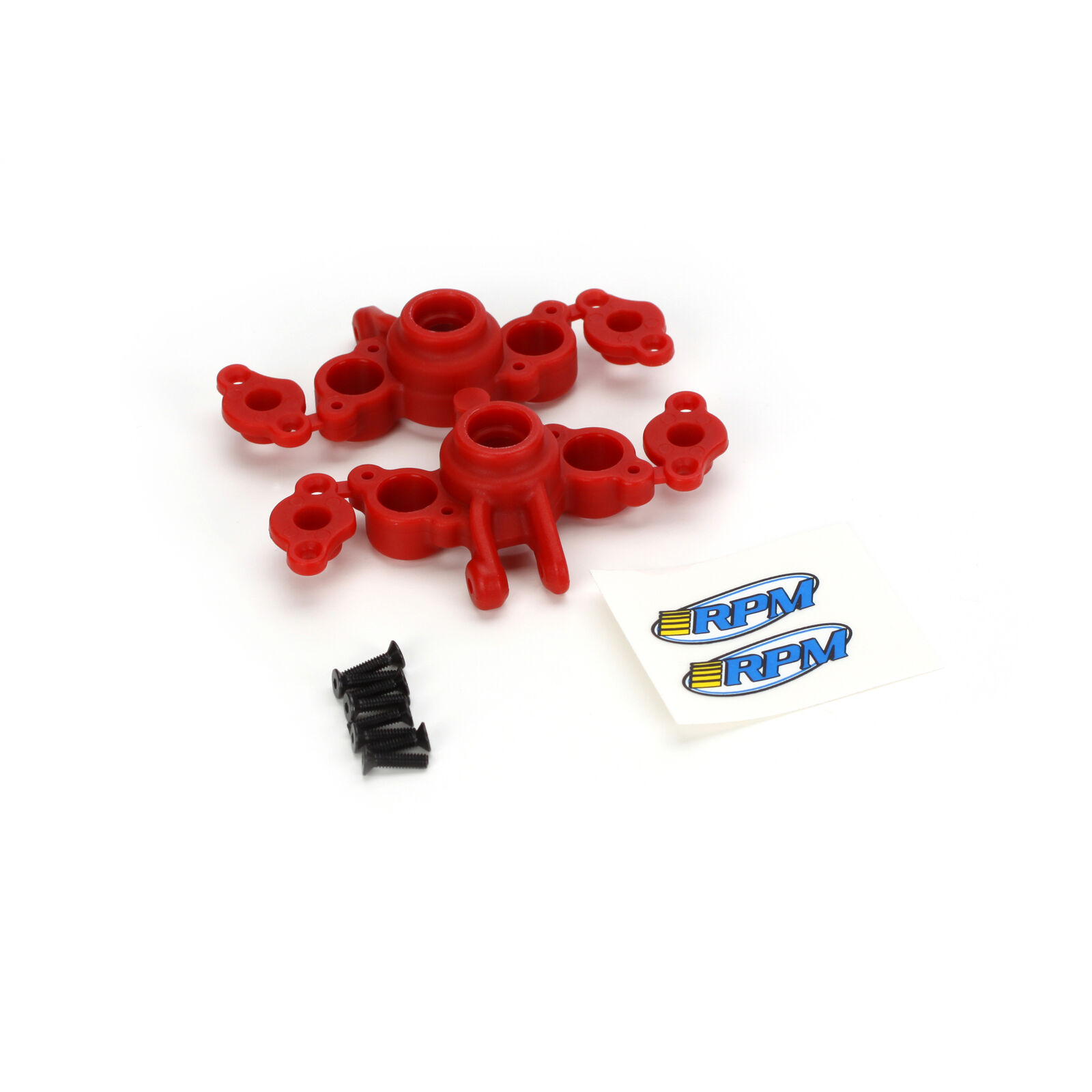 Axle Carriers, Red: 1/16 EVR/SLH