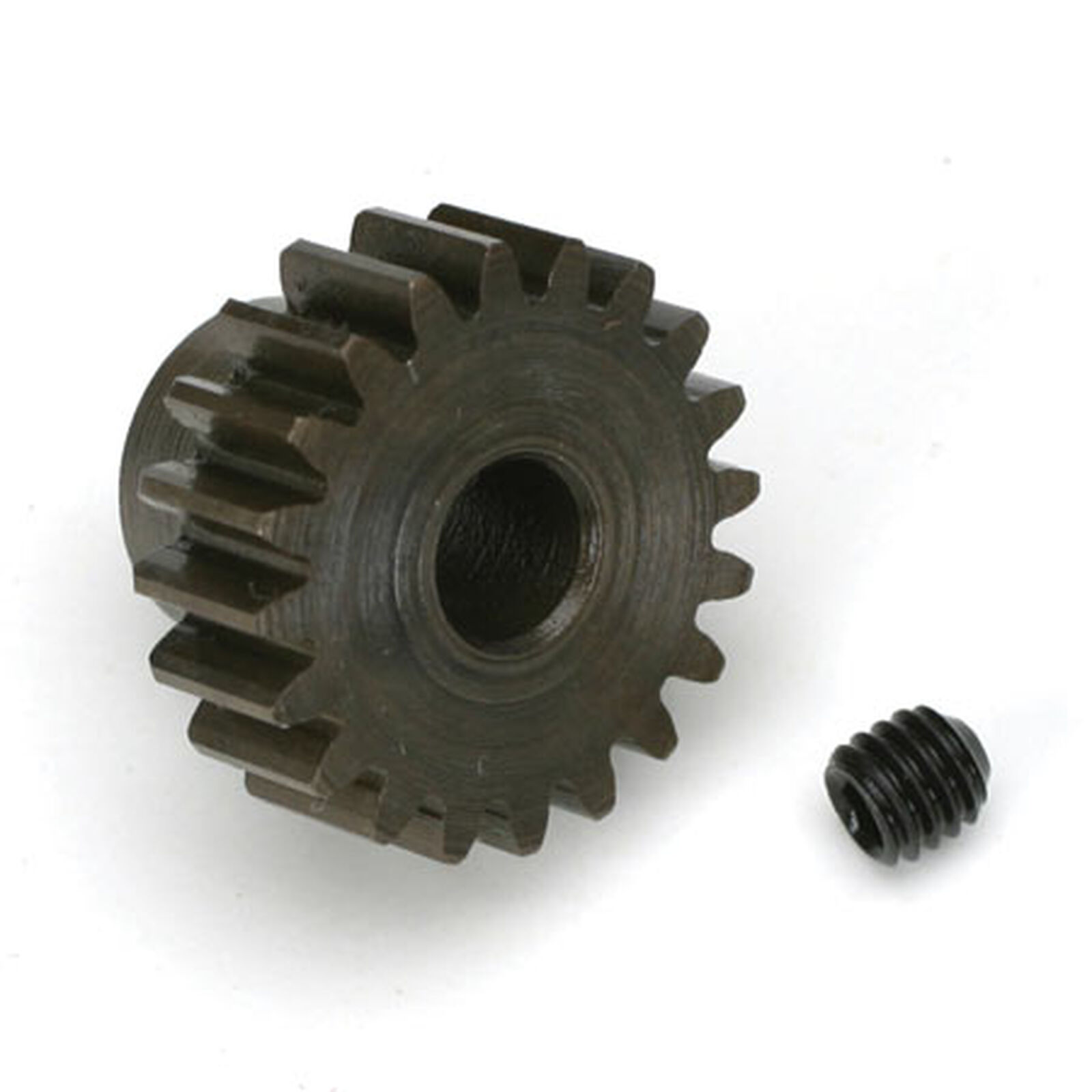 Extra Hard 5mm Bore .8 Module (31.75P) Pinion, 20T