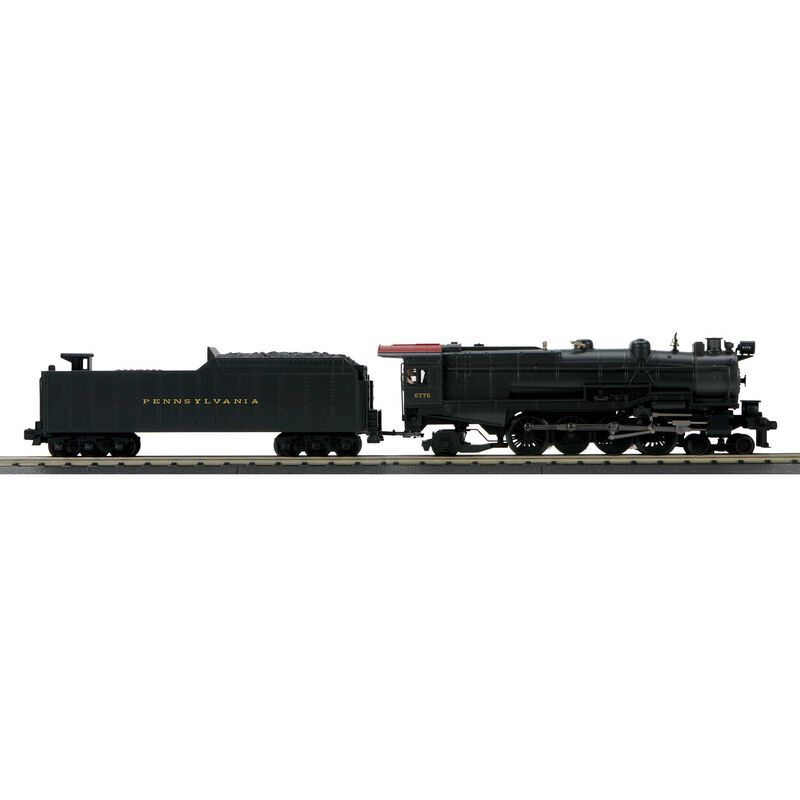 O-27 Imperial 4-8-2 M-1a with PS3 PRR #6776