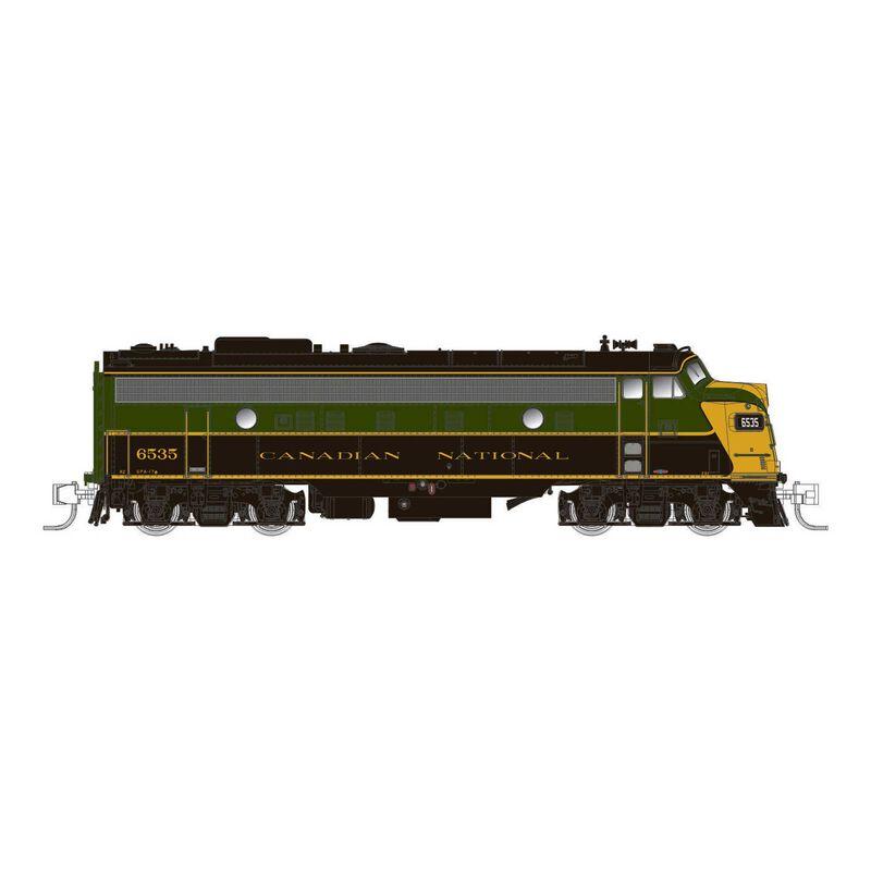 N Scale CN FP9A (DC Silent), CNR 1954 Scheme #6535