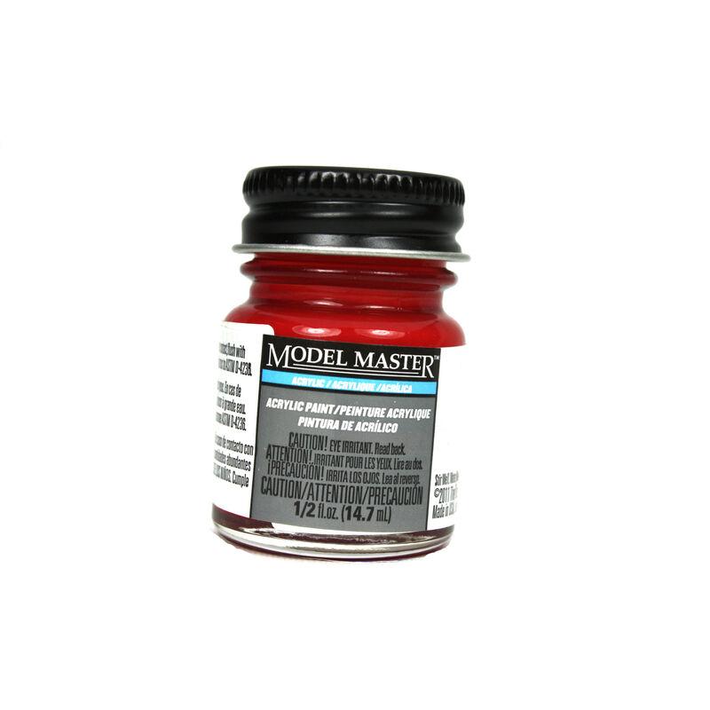 Acryl Gloss 1/2oz Clear Red