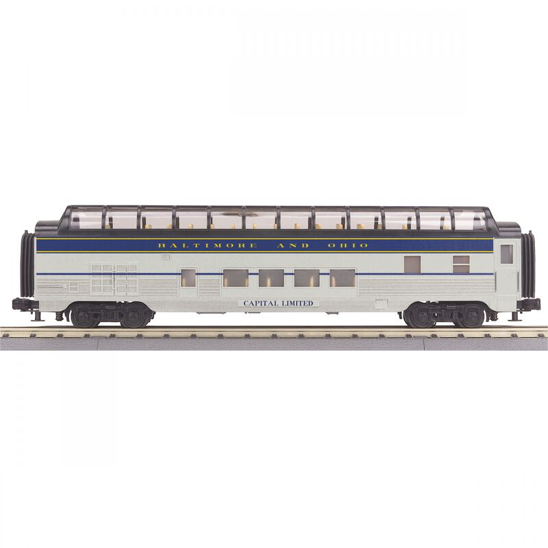 O-27 60' Streamline Vista Dome B&O Capital Limited