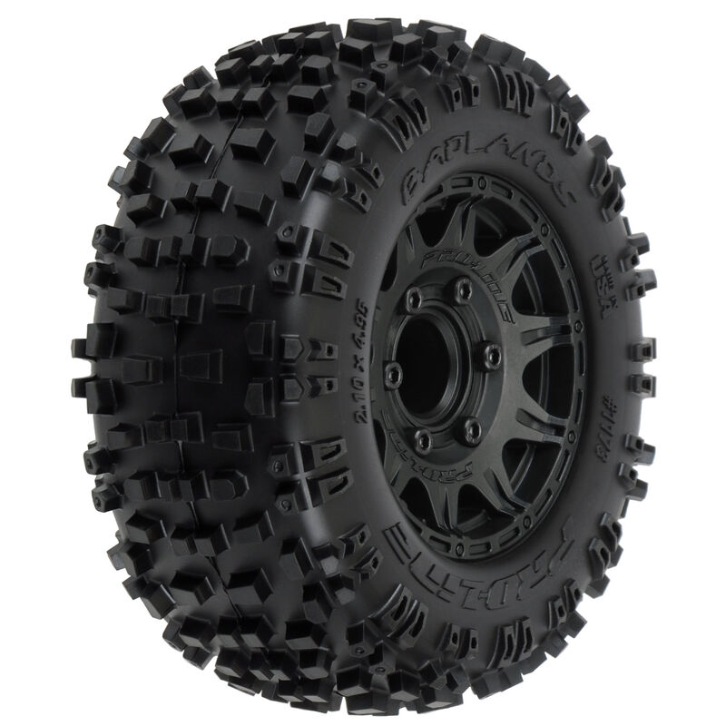 "Badlands 2.8"" MTD Raid Black 6x30 F/R"