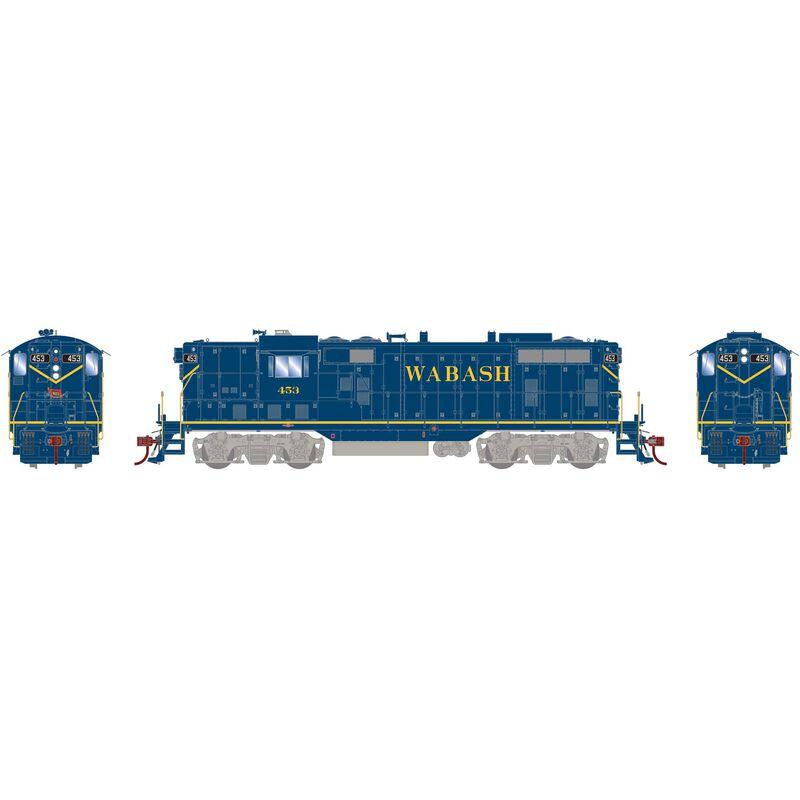 HO GP7 Wabash Blue #453