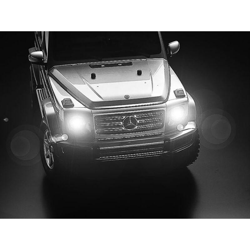 Tamiya 58675 1//10 RC 4WD Truck Kit CC02 Chassis Mercedes Benz G-Class G500 w//ESC