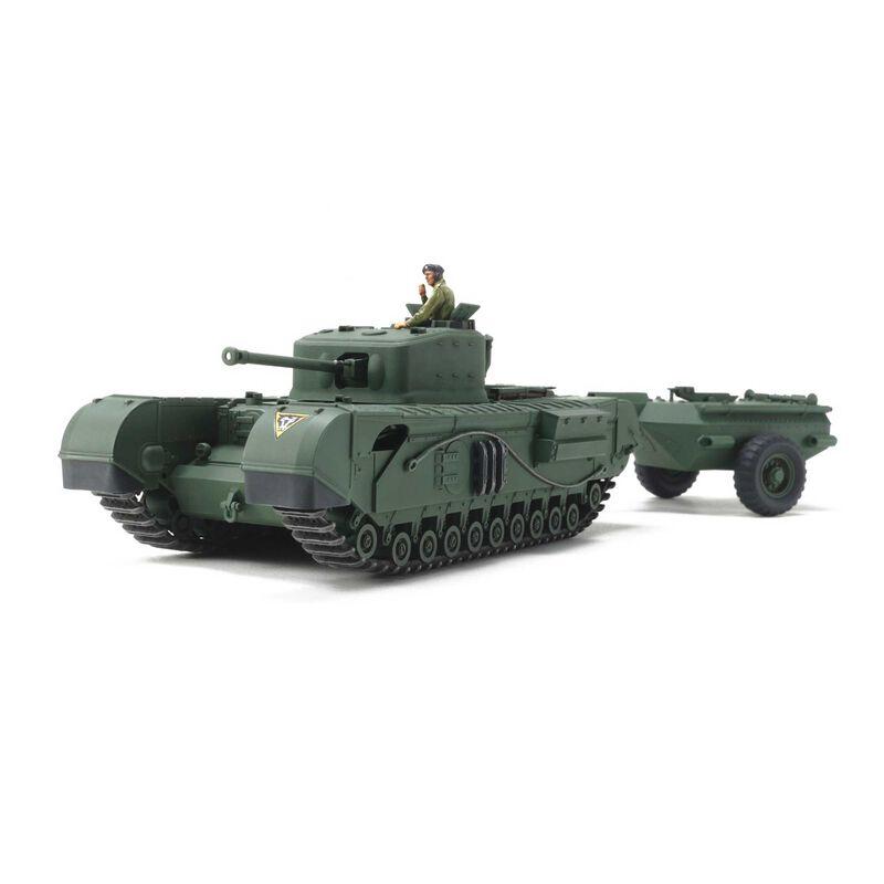 1/48 British Tank Churchill Mk.VII Crocodile