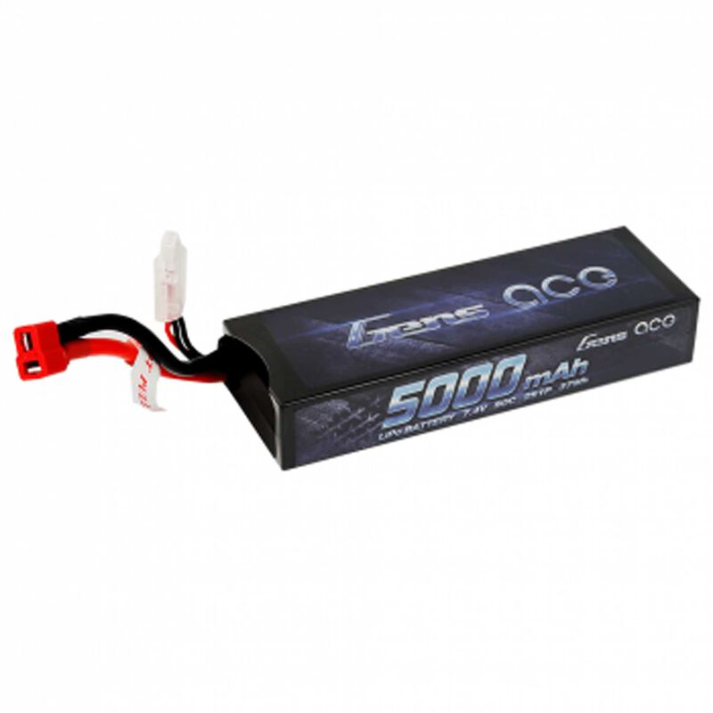7.4V 5000 Capacity 2S Voltage 50C LiPo, Deans