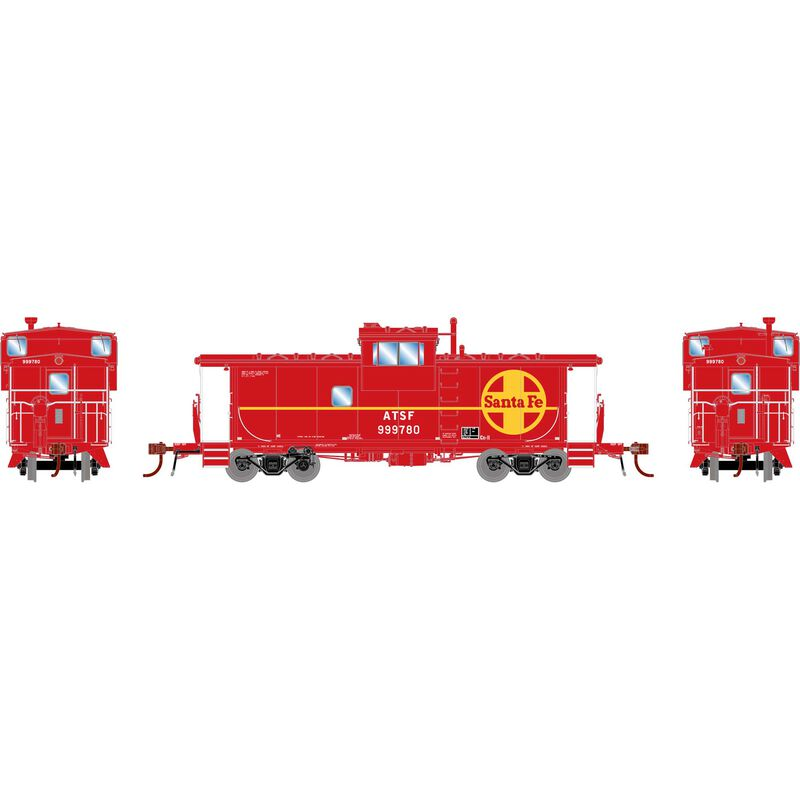 HO CE-11 ICC Caboose with Lights, SF #999780