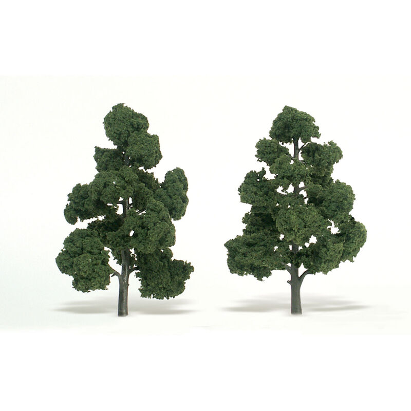"Ready-Made Tree, Medium Green 7-8"" (2)"