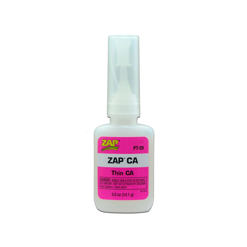 Zap Thin CA Glue, 1/2 oz