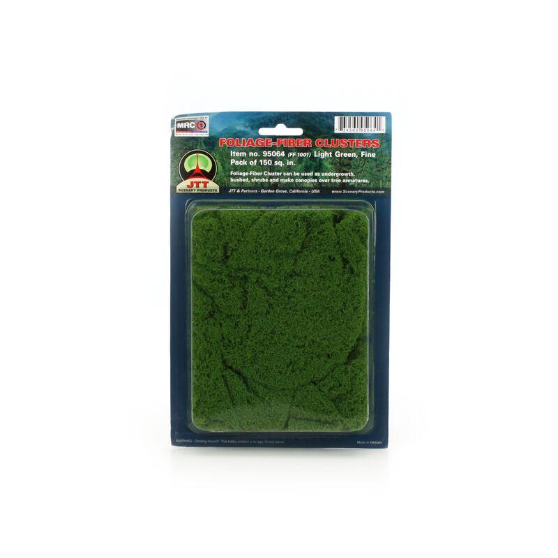 Fine Foliage-Fiber Cluster, Light Green