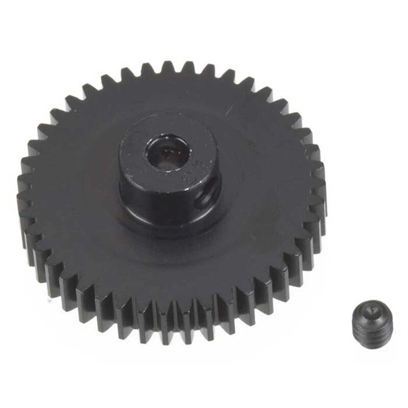 48P Hard Coated Aluminum Pinion Gear, 43T