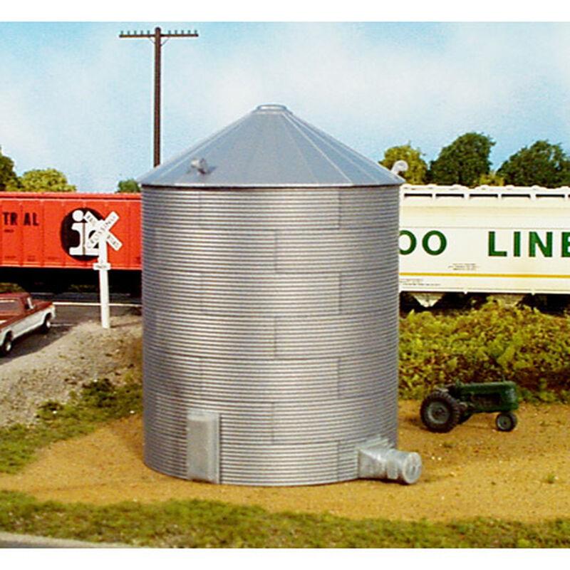 HO KIT 30' Corrugated Grain Bin