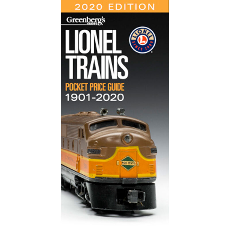Lionel Trains Pocket Price Guide 1901-2020