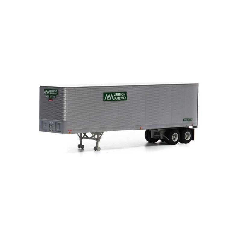 HO RTR 40' Fruehauf Z-Van Trailer VTR #207780
