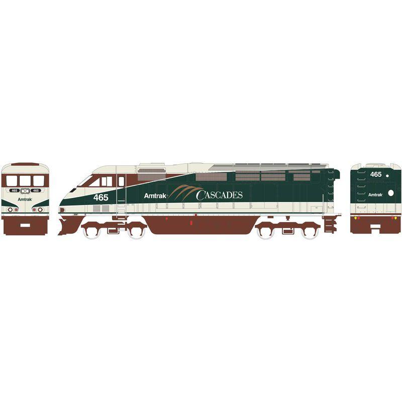 HO RTR F59PHI Amtrak #465