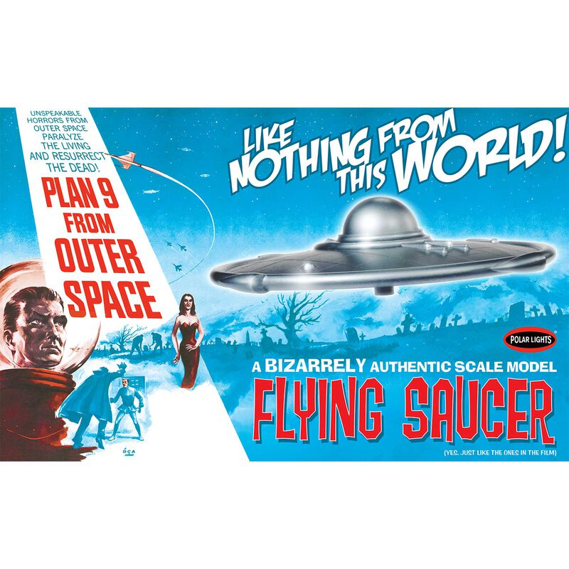 1/48 Plan 9 From Outer Space Flying Saucer