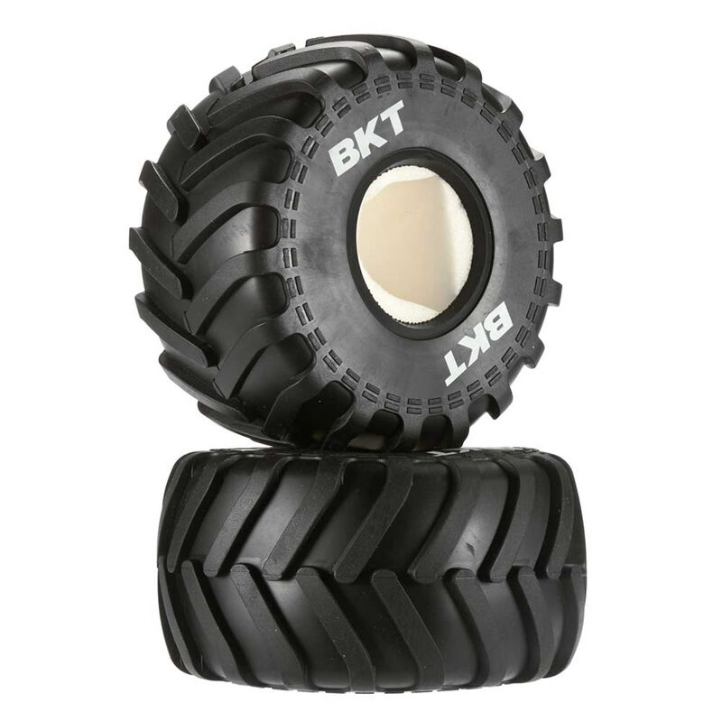 1/10 BKT Monster Jam R-35 Compound 2.2 Tire with Inserts (2)