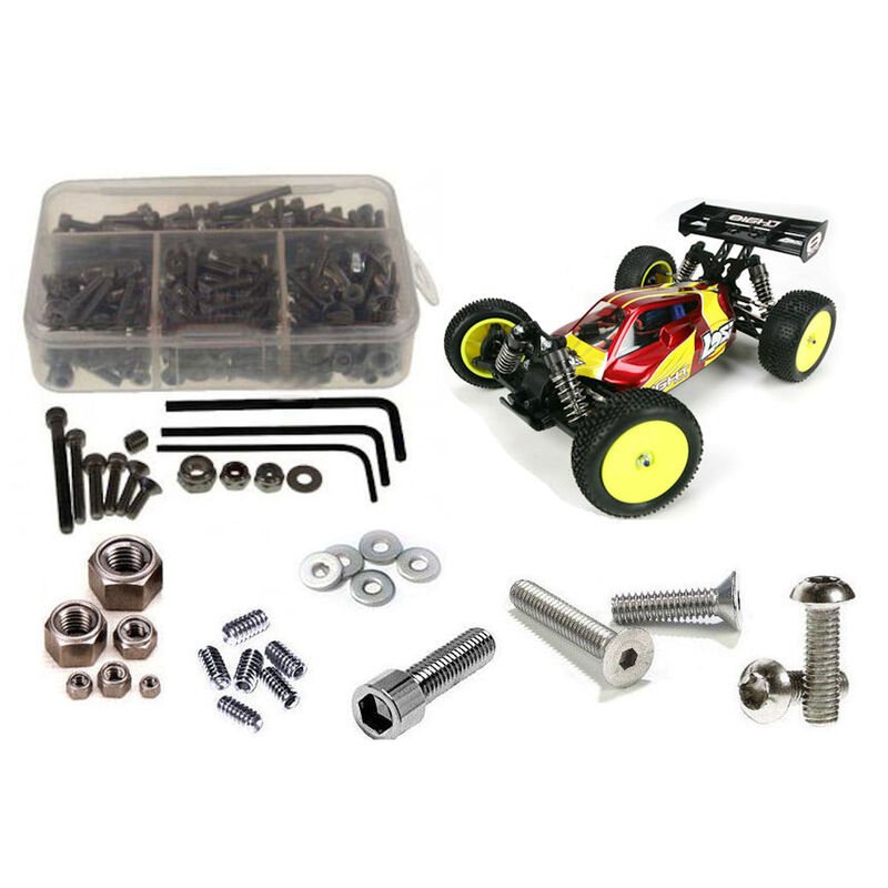 Stainless Steel Screw Kit: Losi Mini 8ight