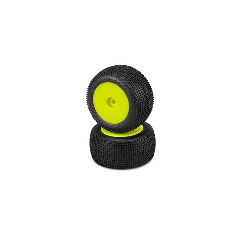 Sprinter Tire, Green Compound Premounted, YLW (2)