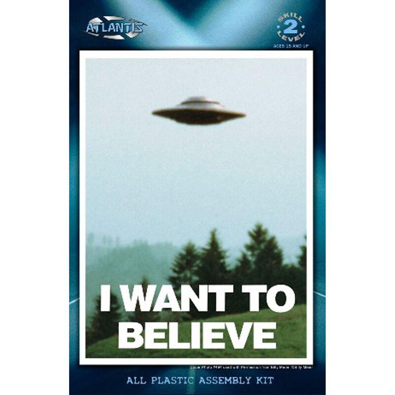 """I Want To Believe"" Billy Meier UFO 5"" with Light Model"