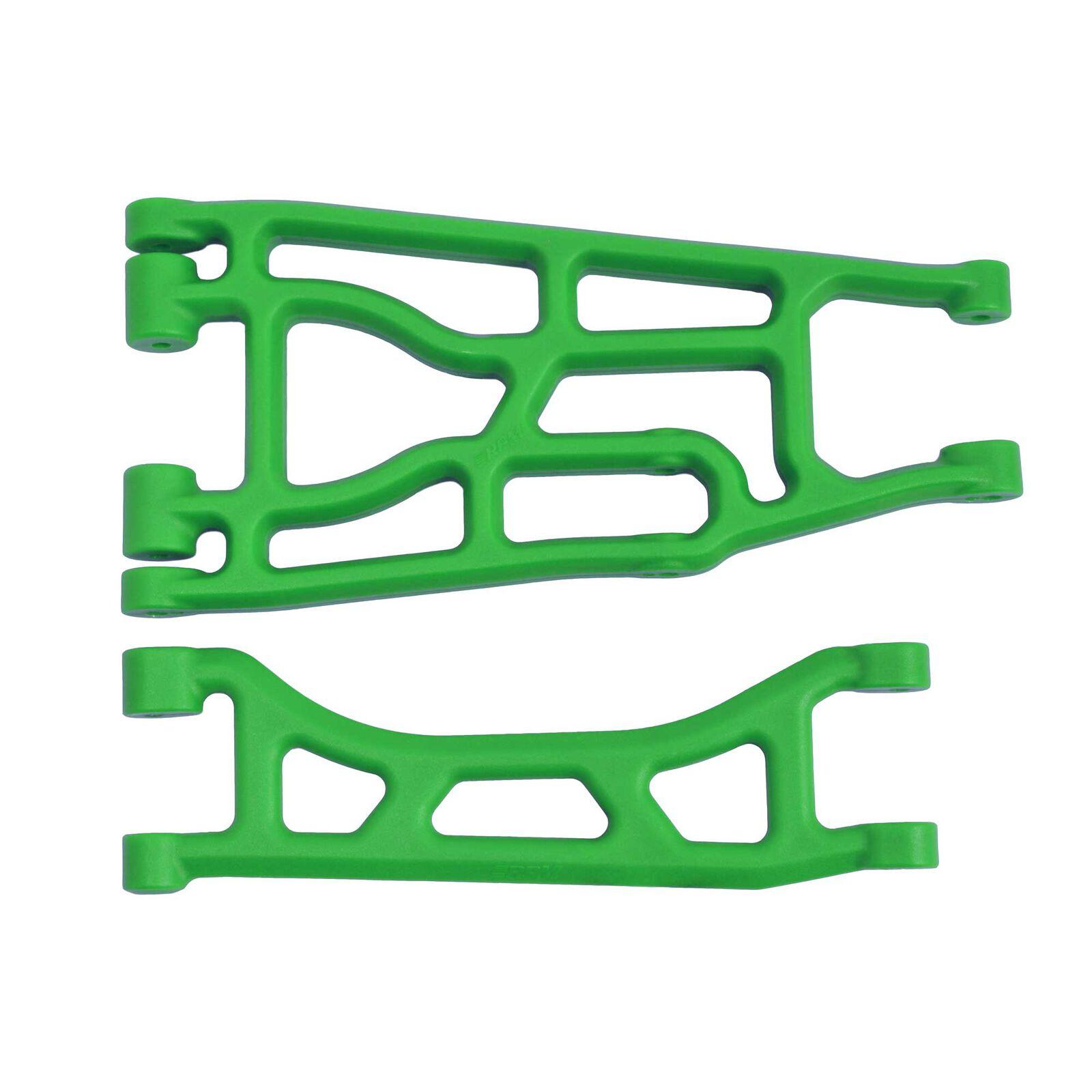 Upper & Lower A-Arm Pair Green  Traxxas X-Maxx