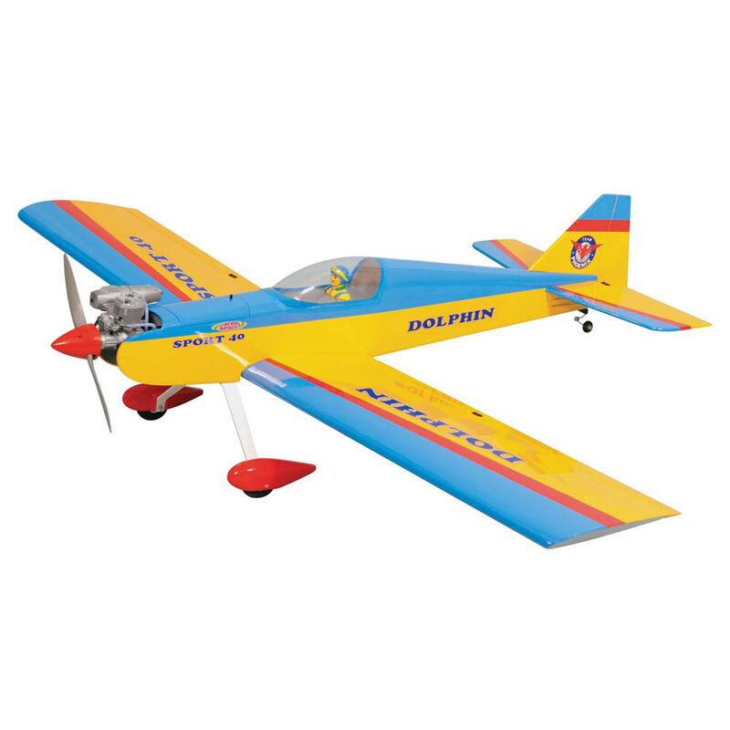 "1/6 Dolphin Mk2 .46-.55 GP EP ARF 63"""