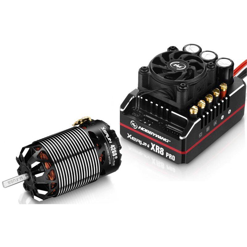 XeRun XR8 PRO G2 ESC + 4268 G3 Motor Combo, 2000Kv