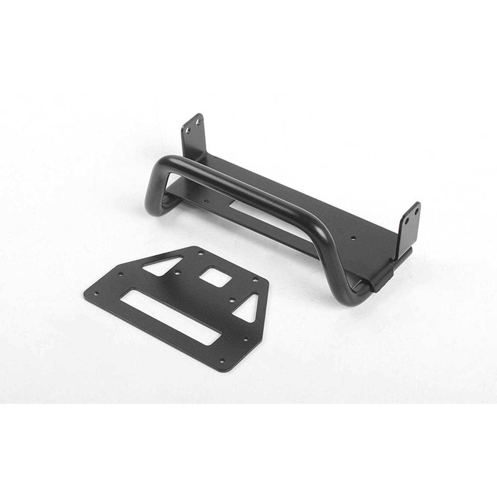 Dragon Front Bumper, Black: CRS 1/6 Crawler