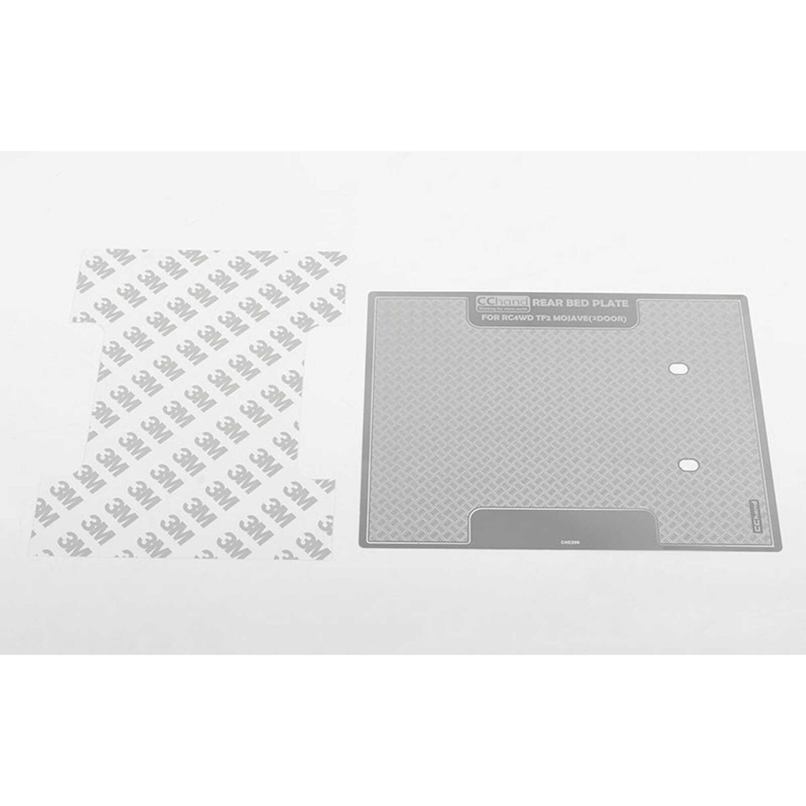 Diamond Plate Rear Bed: Trail Finder 2
