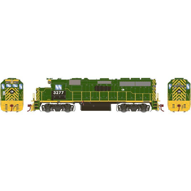 HO GP40-2 with DCC & Sound CR ex RDG #3277