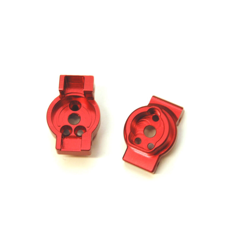 Aluminum Rear Axle Portal Drive Mount (1pr), Red: TRX-4
