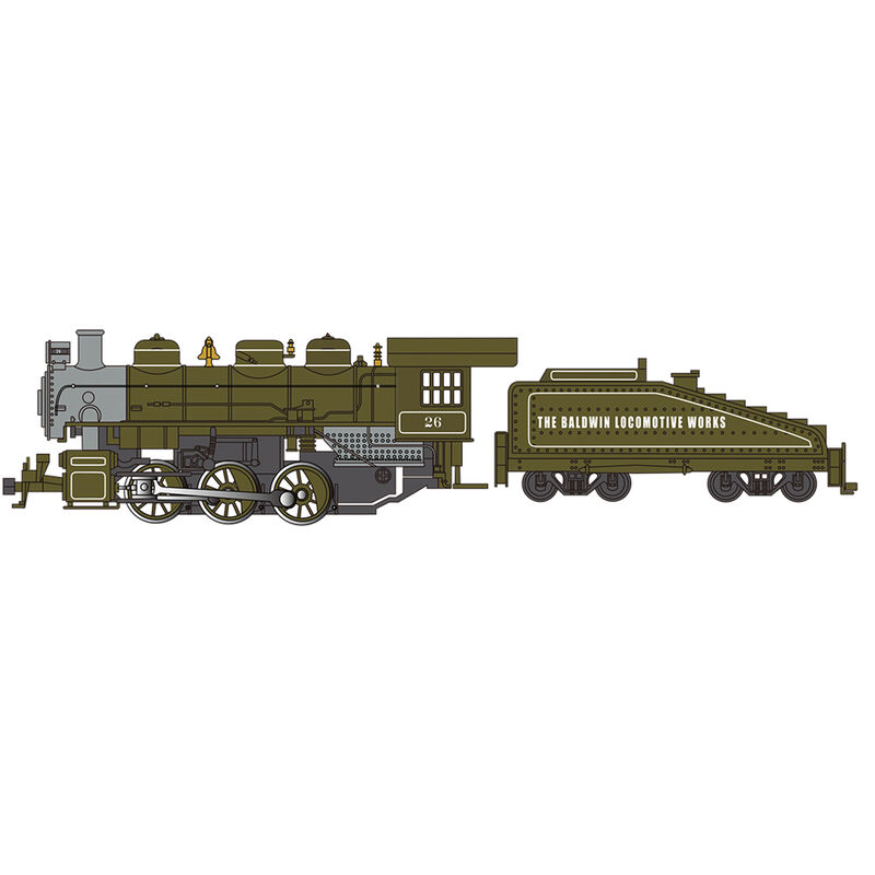 HO USRA 0-6-0 DCC Smoke Baldwin Locomotive Works